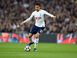 Dele Alli of Tottenham Hotspur during the premier league match at the Wembley Stadium, London. Picture date 14th April 2018. Picture credit should read: Robin Parker/Sportimage