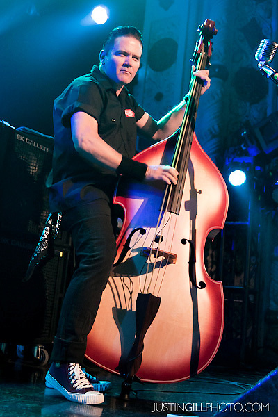 Live concert photo of Reverend Horton Heat @ Metro Chicago by http://www.justingillphoto.com