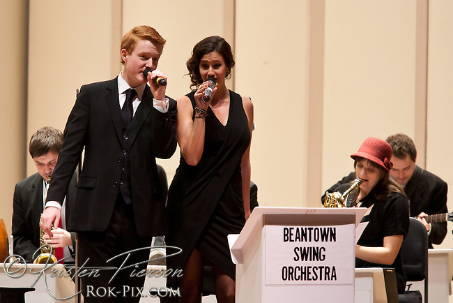 Beantown Swing Orchestra Perform With Special Guests Erika