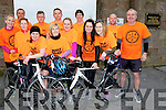 HALF MARATHON: Launching the Kerry Head Half Marathon on Sunday morning in Ballyheigue Front l-r:, Rosaleen and Claire Godley, Lisa Harkin, Ann Lee, Tara Quinlan, Margaret Kenny, Maria Godley and Mick Harkin. Back l-r:Kevin O'Sullivan, Mark Woods, Seamus Falvey, Sean Kenny and Pat Flahive.