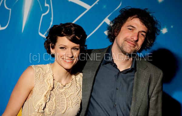 Veerle Baetens and her friend Geert at the Nacht van de Vlaamse Televisiesterren in Hasselt (Belgium, 06/03/2010)