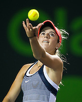 CATHERINE BELLIS (USA)<br /> <br /> MIAMI OPEN, CRANDON PARK, KEY BISCAYNE, MIAMI, FLORIDA, USA<br /> <br /> &copy; AMN IMAGES