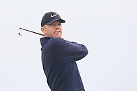 Hugh Foley (Royal Dublin) on the 9th tee during Round 1 of The East of Ireland Amateur Open Championship in Co. Louth Golf Club, Baltray on Saturday 1st June 2019.<br /> <br /> Picture:  Thos Caffrey / www.golffile.ie<br /> <br /> All photos usage must carry mandatory copyright credit (© Golffile | Thos Caffrey)