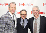 Stephen Bogardus, Chip Zien and Michael Rupert attends the Opening Night After Party for 'Falsettos'  at the New York Hilton Hotel on October 27, 2016 in New York City.