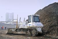 - Milano, cantiere per  l'Esposizione Mondiale Expo 2015....- Milan,  construction site for the World Exhibition Expo 2015