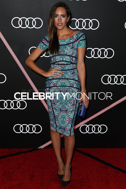 LOS ANGELES, CA - JANUARY 09: Louise Roe at the Audi Golden Globe Awards 2014 Cocktail Party held at Cecconi's Restaurant on January 9, 2014 in Los Angeles, California. (Photo by Xavier Collin/Celebrity Monitor)