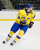 Calle Klingberg (Sweden - 17) - Sweden defeated the Czech Republic 4-2 at the Urban Plains Center in Fargo, North Dakota, on Saturday, April 18, 2009, in their final match of the 2009 World Under 18 Championship.