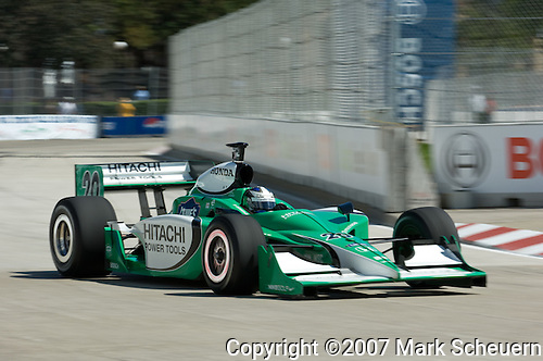 31 August 2007: Ed Carpenter (USA) at the Detroit Belle Isle Grand Prix, Detroit, Michigan.