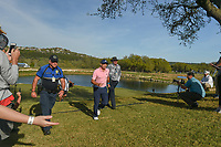Sergio Garcia (ESP) hustles from 11 to the 12th tee during round 1 of the World Golf Championships, Dell Match Play, Austin Country Club, Austin, Texas. 3/21/2018.<br /> Picture: Golffile | Ken Murray<br /> <br /> <br /> All photo usage must carry mandatory copyright credit (&copy; Golffile | Ken Murray)