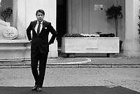Roma, 7 Maggio 2019<br /> Giuseppe Conte.<br /> Il Presidente Conte ha incontrato, a Palazzo Chigi, il Presidente del Consiglio Presidenziale del Governo di Accordo Nazionale della Libia, Fayez al Serraj.