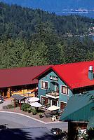 Bowen Island, BC, British Columbia, Canada - Scenic View of Shops at Artisan Square