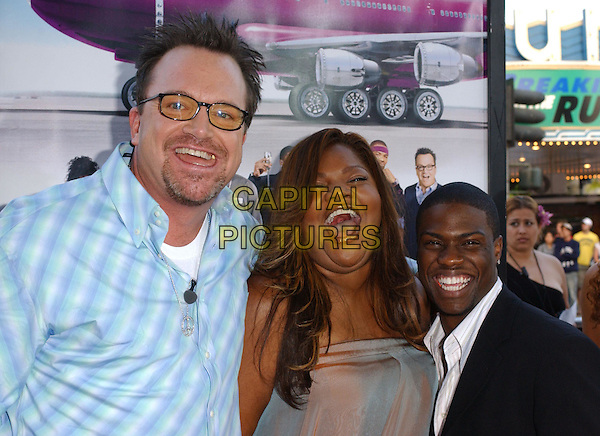 MO'NIQUE, TOM ARNOLD & KEVIN HART.At the MGM Pictures' World Premiere of Soul Plane, held at The Mann Village Theatre in Westwood, California,.May 17,2004.half length half-length glasses checked shirt .*UK sales only*.www.capitalpictures.com.sales@capitalpictures.com.©Debbie Van Story/Capital Pictures