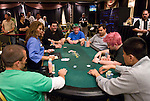 A loaded table: Sebok, Harrington, Feldman, Griffen.