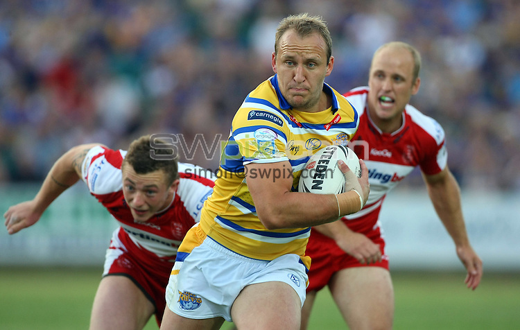 PICTURE BY VAUGHN RIDLEY/SWPIX.COM - Rugby League - Super League - Hull KR v Leeds - Craven Park, Hull, England - 09/07/10...Copyright - Simon Wilkinson - 07811267706...Leeds Carl Ablett.