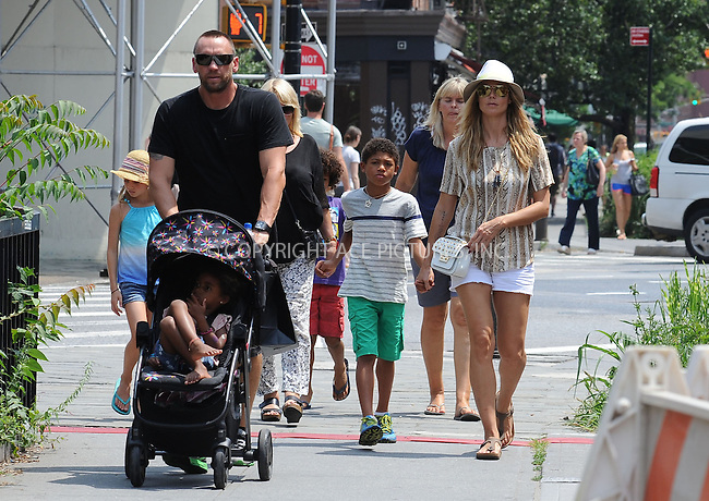 WWW.ACEPIXS.COM<br /> June 24, 2013, New York City<br /> Heidi Klum and Martin Kristen take a walk to the park on June 24, 2013 in New York City.<br /> <br /> By Line: Kristin Callahan/ACE Pictures<br /> ACE Pictures, Inc.<br /> tel: 646 769 0430<br /> Email: info@acepixs.com<br /> www.acepixs.com<br /> Copyright:<br /> Kristin Callahan/ACE Pictures