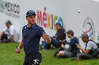 Danny Willett (GBR) tosses his ball to a young fan near the green on 17 during round 4 of the World Golf Championships, Mexico, Club De Golf Chapultepec, Mexico City, Mexico. 2/24/2019.<br /> Picture: Golffile | Ken Murray<br /> <br /> <br /> All photo usage must carry mandatory copyright credit (© Golffile | Ken Murray)