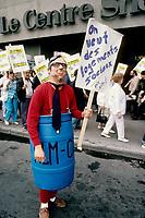 1989 09 SOI - MANIF du FRAPRU