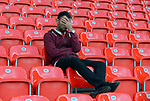 A dejected Arsenal fan at the end of the premier league match at the Britannia Stadium, Stoke. Picture date 19th August 2017. Picture credit should read: Robin Parker/Sportimage