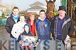 The Doona family from Kilgobnet having fun at the horse fair in Killorglin on Saturday l-r: Sean, Sharon, Sheila, Mark, Padraig and John