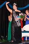 March 25, 2017- Tuscola, IL- Newly crowned 2017 Miss Tuscola Ashley Mattingly takes her first walk during the Miss Tuscola pageant. [Photo: Douglas Cottle]