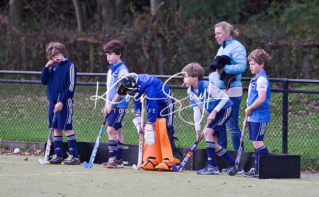 AERDENHOUT - Hurley jongens bij hockeyclub Rood-Wit in Aerdenhout. COPYRIGHT KOEN SUYK