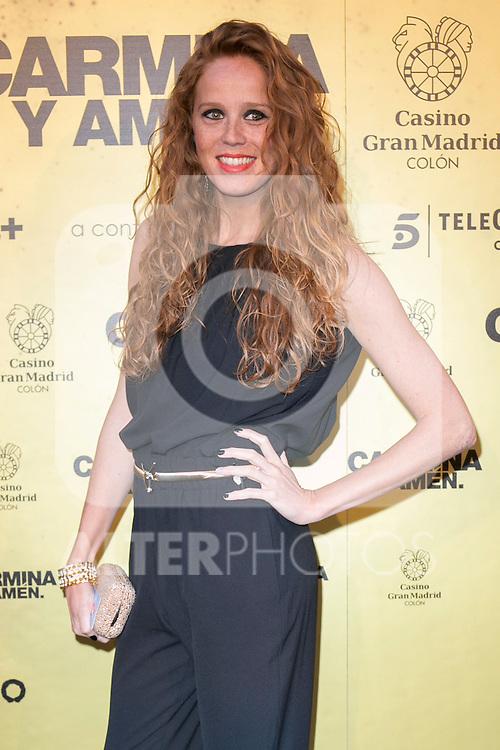"Spanish actress Maria Castro attend the Premiere of the movie ""Carmina y Amen"" at the Callao Cinema in Madrid, Spain. April 28, 2014. (ALTERPHOTOS/Carlos Dafonte)"