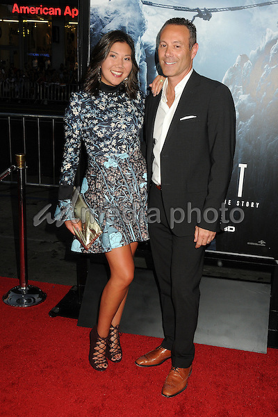 """9 September 2015 - Hollywood, California - Naia Cucukov, Frank Smith. """"Everest"""" Los Angeles Premiere held at the TCL Chinese Theatre. Photo Credit: Byron Purvis/AdMedia"""