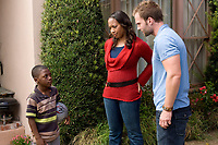 Role Models (2008) <br /> Bobb'e J. Thompson, Nicole Randall Johnson, Seann William Scott<br /> *Filmstill - Editorial Use Only*<br /> CAP/MFS<br /> Image supplied by Capital Pictures
