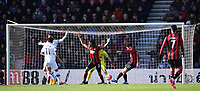 29th February 2020; Vitality Stadium, Bournemouth, Dorset, England; English Premier League Football, Bournemouth Athletic versus Chelsea; Adam Smith of Bournemouth clears the ball from the goalmouth as Chelsea appeal for a penalty