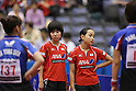 (L to R) Miu Hirano, Mima Ito (JPN), .JUNE 7, 2012 - Table Tennis : The Japan Open 2012, Women's Doubles Qualifying Round at Green Arena Kobe, Hyogo, Japan. (Photo by Akihiro Sugimoto/AFLO SPORT) [1080]