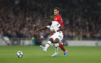 Tottenham Hotspur's Tanguy Ndombele and Bayern Munich's Philippe Coutinho <br /> <br /> Photographer Rob Newell/CameraSport<br /> <br /> UEFA Champions League Group B  - Tottenham Hotspur v Bayern Munich - Tuesday 1st October 2019 - White Hart Lane - London<br />  <br /> World Copyright © 2018 CameraSport. All rights reserved. 43 Linden Ave. Countesthorpe. Leicester. England. LE8 5PG - Tel: +44 (0) 116 277 4147 - admin@camerasport.com - www.camerasport.com