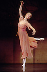 English National Ballet performing Rudolf Nureyev's production of Romeo and Juliet. Agnes Oaks as Juliet