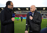 Matt Garvey of Bath Rugby speaks live on BT Sport. Gallagher Premiership match, between Sale Sharks and Bath Rugby on April 26, 2019 at the AJ Bell Stadium in Manchester, England. Photo by: Patrick Khachfe / Onside Images