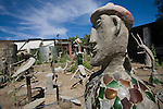 Owl house sculpture yard, Nieu Bethesda, Eastern Cape, South Africa