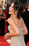 LOS ANGELES, CA. - September 21: Actress Evangeline Lilly  arrives at the 60th Primetime Emmy Awards at the Nokia Theater on September 21, 2008 in Los Angeles, California.