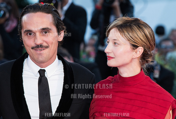 Pier Giorgio Bellocchio &amp; Alba Rohrwacher  at the premiere of Blood Of My Blood at the 2015 Venice Film Festival.<br /> September 8, 2015  Venice, Italy<br /> Picture: Kristina Afanasyeva / Featureflash