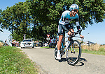 SITTARD, NETHERLANDS - AUGUST 16: Gert Steegmans of Belgium riding for Omega Pharma-Quick Step competes during stage 5 of the Eneco Tour 2013, a 13km individual time trial from Sittard to Geleen, on August 16, 2013 in Sittard, Netherlands. (Photo by Dirk Markgraf/www.265-images.com)