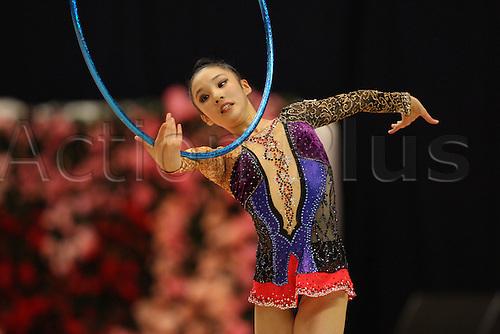 Sakura Hayakawa (JPN), .OCTOBER 9, 2010 - Rhythmic Gymnastics : .AEON CUP 2010 .Worldwide R.G. Club Championships .at Tokyo Metropolitan Gymnasium, Tokyo, Japan. .