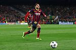 UEFA Champions League 2013/2014.<br /> Quarter-finals 1st leg.<br /> FC Barcelona vs Club Atletico de Madrid: 1-1.<br /> Jordi Alba.