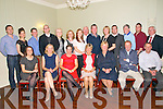 60th Birthday : Margaret McAuliffe, Listowe, centre front, l celebrating her 60th birthday with family & friends at the Listowel Arms Hotel on Saturday night last.