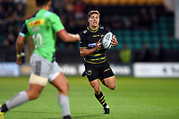 Piers Francis of Northampton Saints in possession. Gallagher Premiership match, between Northampton Saints and Harlequins on September 7, 2018 at Franklin's Gardens in Northampton, England. Photo by: Patrick Khachfe / JMP