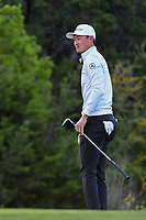 HaoTong Li (CHN) watches his chips on to 10 during day 2 of the Valero Texas Open, at the TPC San Antonio Oaks Course, San Antonio, Texas, USA. 4/5/2019.<br /> Picture: Golffile | Ken Murray<br /> <br /> <br /> All photo usage must carry mandatory copyright credit (© Golffile | Ken Murray)