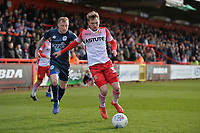 Johnny Hunt of Stevenage during Stevenage vs Bury, Sky Bet EFL League 2 Football at the Lamex Stadium on 9th March 2019