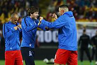 Renat Dadashov (Aserbaidschan) mit Ruslan Gurbanov (Aserbaidschan)- 08.10.2017: Deutschland vs. Asabaidschan, WM-Qualifikation Spiel 10, Betzenberg Kaiserslautern