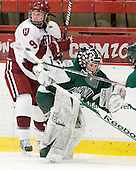 Lyndsey Fry (Harvard - 9), Lindsay Holdcroft (Dartmouth - 30) - The visiting Dartmouth College Big Green defeated the Harvard University Crimson 3-2 on Wednesday, November 23, 2011, at Bright Hockey Center in Cambridge, Massachusetts.