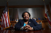March 26, 2015. San Diego , CA. USA|Shirley Weber represents the 79th Assembly District in San Diego.| Photos by Jamie Scott Lytle