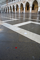 Love Heart in San Marco, Venice, Italy