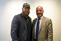 Scott Welch (L) and John Conteh during the 'I Am Duran' Film Screening at Universal Pictures on 23rd May 2019