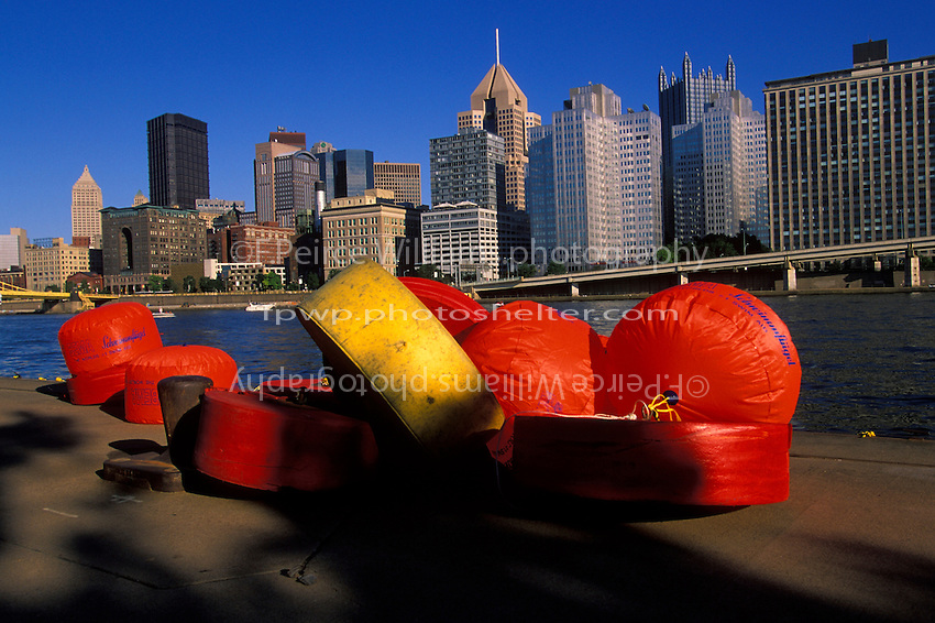 Bouys, Pittsburgh, PA 1998..© F. Peirce Williams 1998