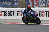 June 9th 2017, Barcelona Circuit, Montmelo, Catalunya, Spain; MotoGP Grand Prix of Catalunya, Free practice day; Maverick Vinales (movistar Yamaha)during the free practice sessions